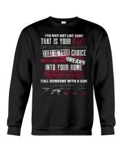 PATRIOTIC - You May Not M 0036 Crewneck Sweatshirt thumbnail