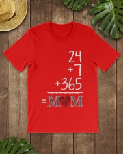 Mothers Day 24 7 365 Mom Apparel Classic T-Shirt lifestyle-mens-crewneck-front-18