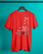 Mothers Day 24 7 365 Mom Apparel Classic T-Shirt lifestyle-mens-crewneck-front-3