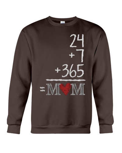 Mothers Day 24 7 365 Mom Apparel