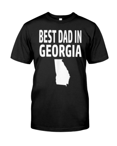 Best Dad in Georgia Fathers Day Gift