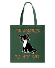 I Am Married To My Cat Cat Tote Bag thumbnail