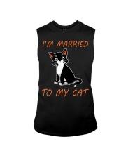 I Am Married To My Cat Cat Sleeveless Tee thumbnail