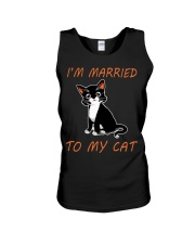 I Am Married To My Cat Cat Unisex Tank thumbnail