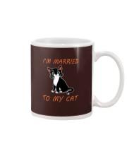 I Am Married To My Cat Cat Mug thumbnail