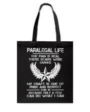 PARALEGAL LIFE Tote Bag thumbnail