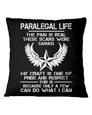 PARALEGAL LIFE Square Pillowcase thumbnail