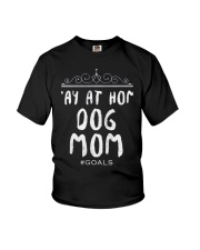 Dog Mom Doggy Dogs Moms Youth T-Shirt thumbnail