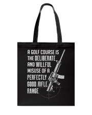 PATRIOTIC - Rifle Range M 0012 Tote Bag thumbnail