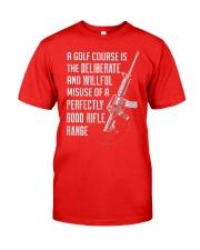 PATRIOTIC - Rifle Range M 0012 Classic T-Shirt thumbnail