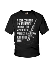 PATRIOTIC - Rifle Range M 0012 Youth T-Shirt thumbnail