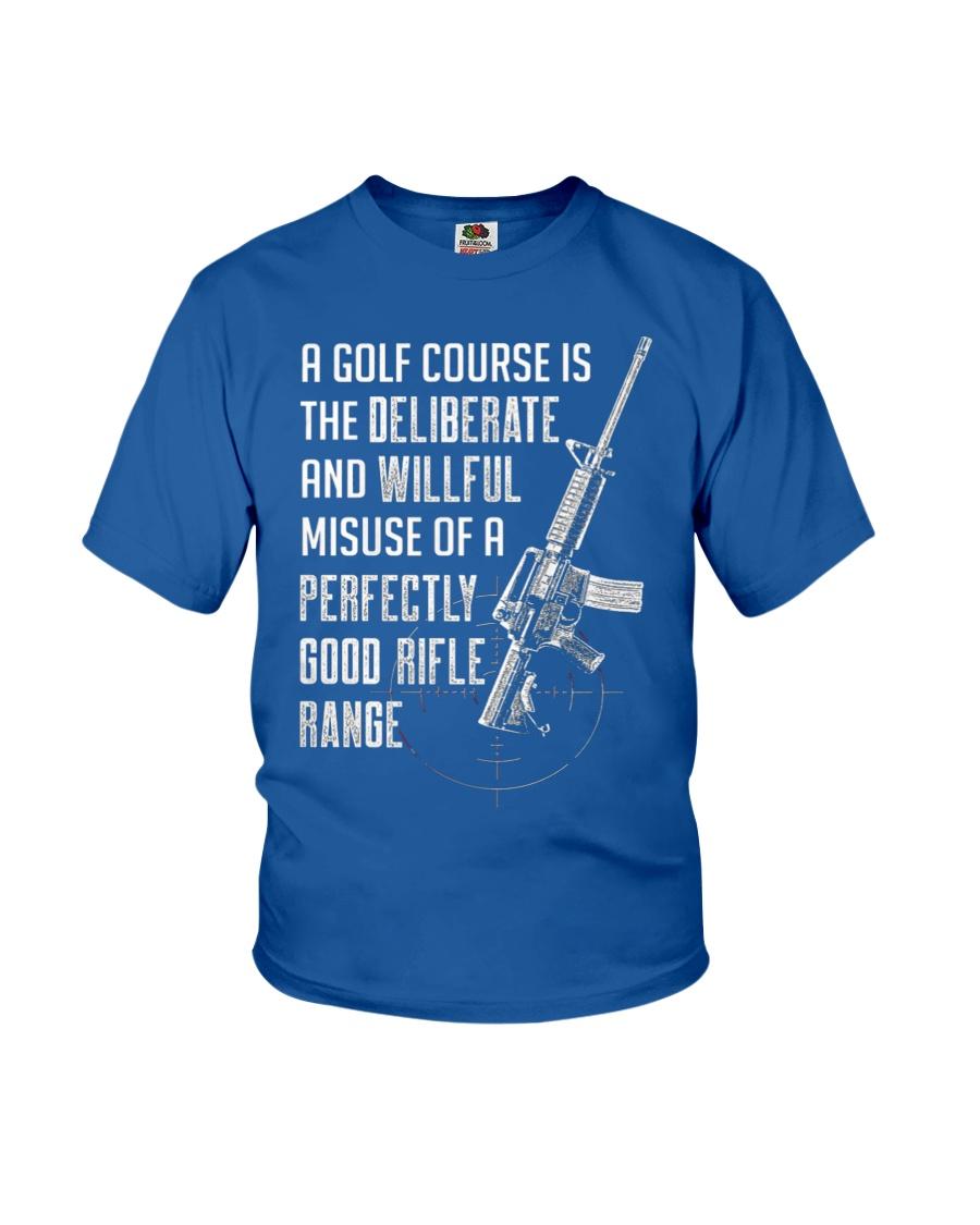 PATRIOTIC - Rifle Range M 0012 Youth T-Shirt