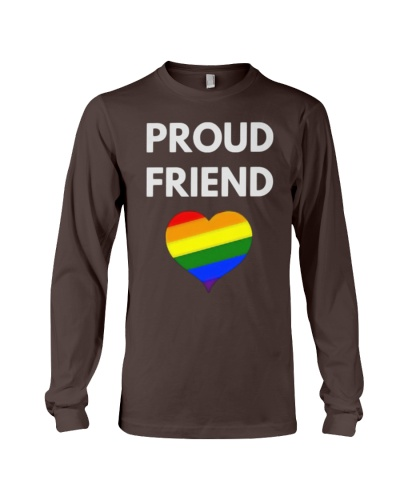 Proud Friend t-shirt - LGBT Pride