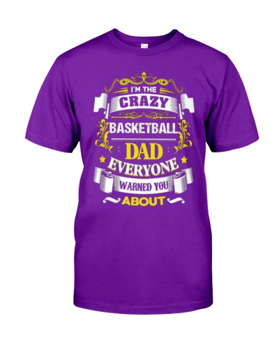 Basketball Dad Tshirt Fathers Day Gift