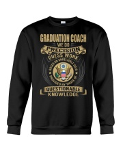 Graduation Coach - We Do Crewneck Sweatshirt thumbnail