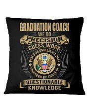 Graduation Coach - We Do Square Pillowcase tile