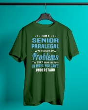 Senior Paralegal Classic T-Shirt lifestyle-mens-crewneck-front-3