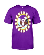 GRADUATION OWL Classic T-Shirt front