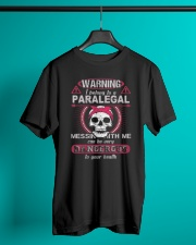Warning i belong to a PARALEGAL Classic T-Shirt lifestyle-mens-crewneck-front-3