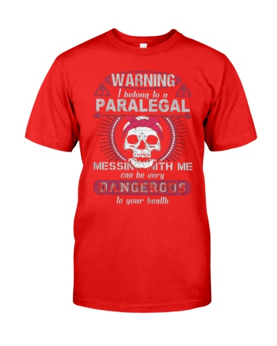 Warning i belong to a PARALEGAL