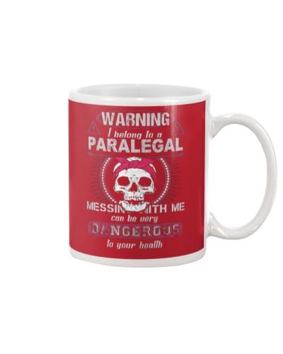 Warning i belong to a PARALEGAL