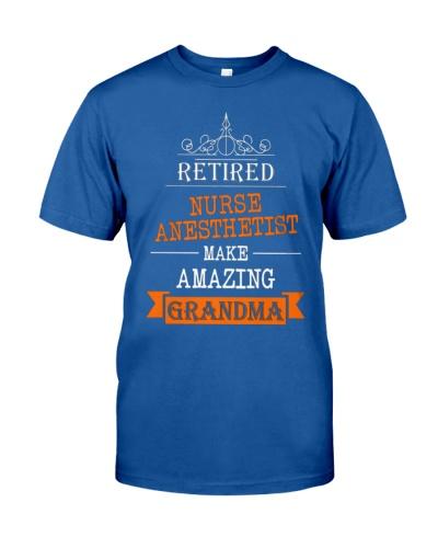 Retired nurse anesthetist grandma