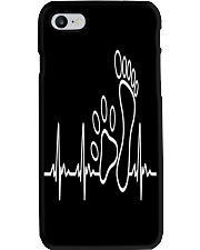 DOG WALKING - MY HEART BEAT Phone Case thumbnail