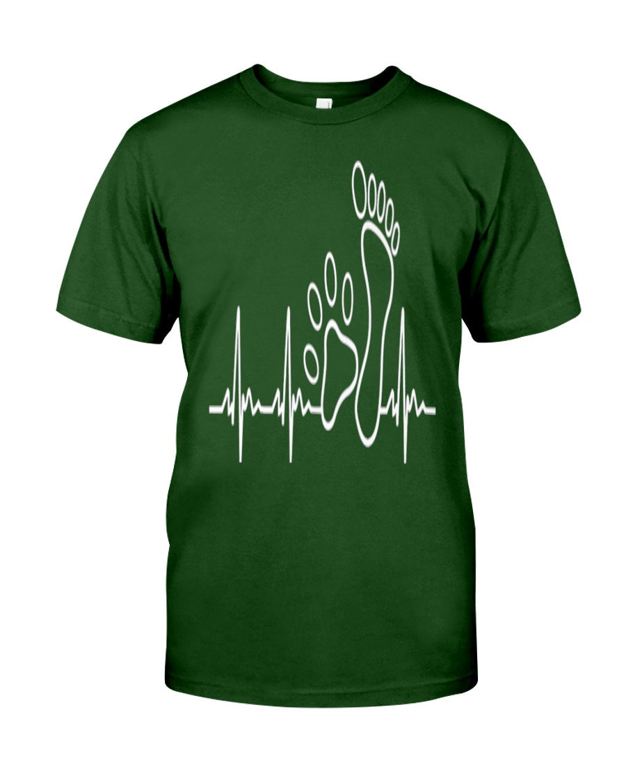 DOG WALKING - MY HEART BEAT Classic T-Shirt