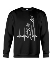 DOG WALKING - MY HEART BEAT Crewneck Sweatshirt thumbnail
