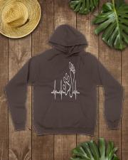 DOG WALKING - MY HEART BEAT Hooded Sweatshirt lifestyle-unisex-hoodie-front-7