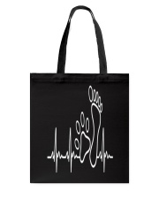 DOG WALKING - MY HEART BEAT Tote Bag thumbnail