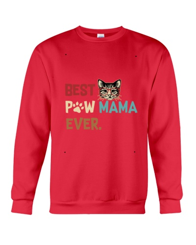 Cat Paw T Shirt Best Paw Mama Ever