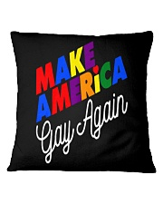 Make America Gay Again LGBT Pride Gay Le Square Pillowcase thumbnail
