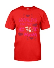 Mothers Day Cat Mom Classic T-Shirt front
