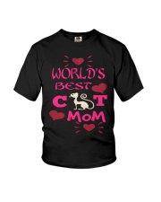 Mothers Day Cat Mom Youth T-Shirt thumbnail