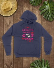Mothers Day Cat Mom Hooded Sweatshirt lifestyle-unisex-hoodie-front-7