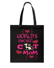 Mothers Day Cat Mom Tote Bag thumbnail