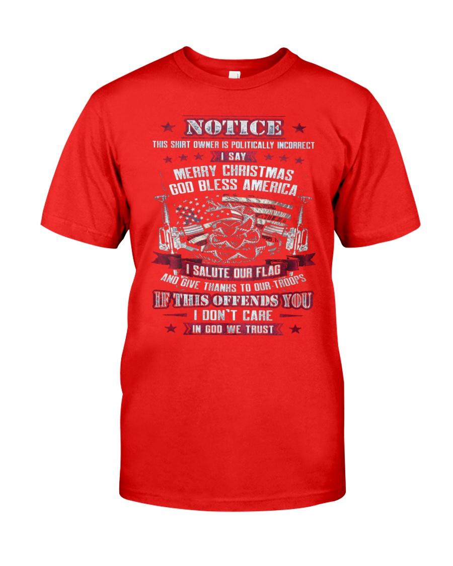 Patriotic Shirts 1 Classic T-Shirt