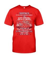 Patriotic Shirts 1 Classic T-Shirt front