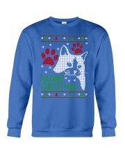 Meowy Ugly Christmas Sweaters - Ugly Sweater Crewneck Sweatshirt front
