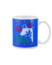 Meowy Ugly Christmas Sweaters - Ugly Sweater Mug front