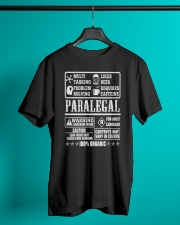 PARALEGAL 100 ORGANIC T-SHIRTS Classic T-Shirt lifestyle-mens-crewneck-front-3