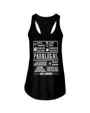 PARALEGAL 100 ORGANIC T-SHIRTS Ladies Flowy Tank thumbnail