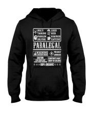 PARALEGAL 100 ORGANIC T-SHIRTS Hooded Sweatshirt thumbnail