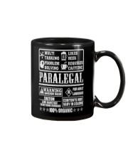 PARALEGAL 100 ORGANIC T-SHIRTS Mug thumbnail