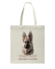 WORLD'S OLDEST SECURITY SYSTEM German Shepherd Tote Bag thumbnail