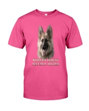 WORLD'S OLDEST SECURITY SYSTEM German Shepherd Classic T-Shirt front