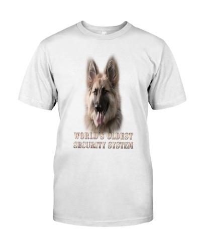 WORLD'S OLDEST SECURITY SYSTEM German Shepherd