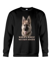 WORLD'S OLDEST SECURITY SYSTEM German Shepherd Crewneck Sweatshirt thumbnail