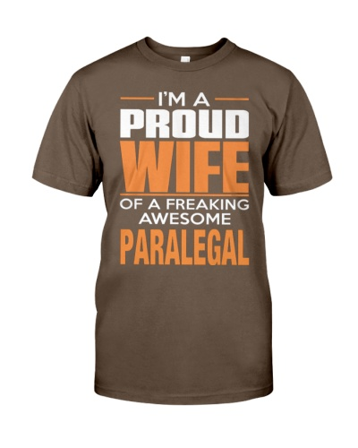 PROUD WIFE - PARALEGAL